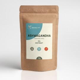 Ashwagandha ekstrakt 5% witanolidów